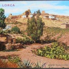 Postales: (6832)POSTAL SIN CIRCULAR,VISTA GENERAL DEL CALVARIO Y CASTILLO,LORCA,MURCIA,MURCIA,CONSERVACION:VER. Lote 39184980