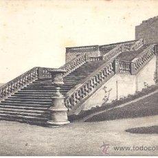Postales: PS0745 CARTAGENA 'ESCALERA EN EL PARQUE ALFONSO TORRE'. L. ROISIN. NÚM. 79. CIRCULADA EN 1928. Lote 39291886