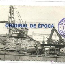 Postales: (PS-36560)POSTAL DE CARTAGENA-OBRAS EN EL PUERTO. Lote 39315147