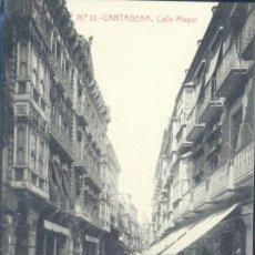 Postales: CARTAGENA (MURCIA).- CALLE MAYOR. Lote 39395628