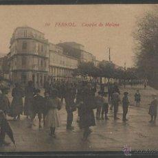 Postales: FERROL - 10 - CANTON DE MOLINS - ED·EMILIO MOLINE - (17716). Lote 39415720
