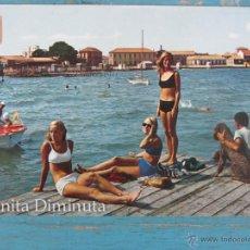 Postales: ANTIGUA POSTAL DE LOS ALCAZARES - MAR MENOR - DETALLE DE LA PLAYA - AÑO 1972 - CIRCULADA - EN BUEN E. Lote 39562363
