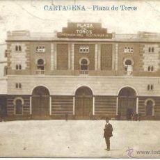Postales: PS0752 CARTAGENA 'PLAZA DE TOROS'. POSTAL FOTOGRÁFICA. LA INDUSTRIAL FOTOGRÁFICA. SIN CIRCULAR. Lote 39645492