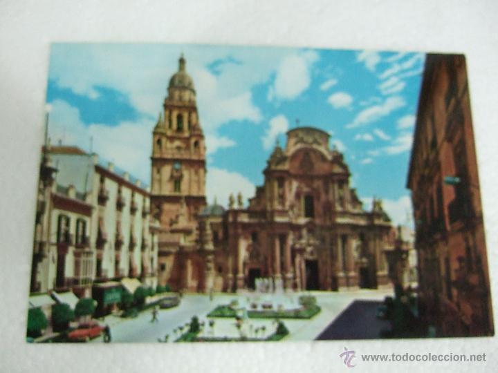 POSTAL MURCIA - CATEDRAL - 1961 - SIN CIRCULAR (Postales - España - Murcia Moderna (desde 1.940))