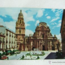 Postales: POSTAL MURCIA - CATEDRAL - 1961 - SIN CIRCULAR. Lote 39701296