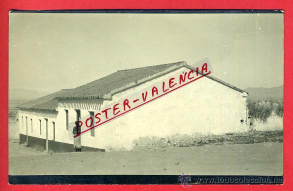 POSTAL MAZARRON, MURCIA , FOTOGRAFICA, COTO FORTUNA , 3 CASITAS GRUPO TRABAJADORES , ORIGINAL,P90490 (Postales - España - Murcia Antigua (hasta 1.939))