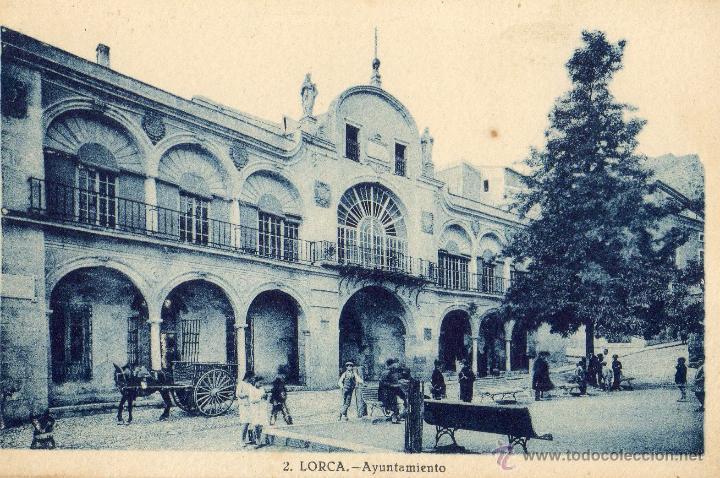 Postal antigua lorca murcia ayuntamiento comprar - Lorca murcia fotos ...