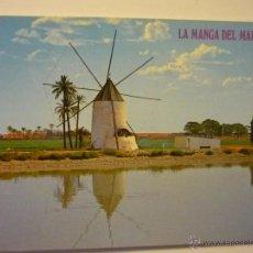 Cartes Postales: POSTAL LA MANGA DEL MAR MENOR .- MOLINO TIPICO. Lote 40076246