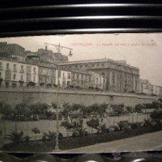 Postales: CARTAGENA. LA MURALLA DEL MAR Y PASEO DEL MUELLE.ED CASAU. Lote 40130943