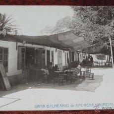 Postales: ANTIGUA FOTO POSTAL DEL BALNERARIO DE ARCHENA - MURCIA - N. 19 - LAS BARRACAS - ANDRES FABERT. EDITO. Lote 40198567