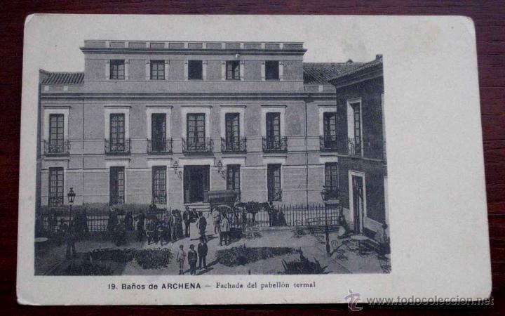 Antigua postal de archena murcia ba os de ar comprar - Banos de archena ...