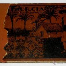 Postales: MURCIA ARTISTICA INDUSTRIAL 1926, MURCIA Y SU PROVINCIA, LUJOSO ALBUM DE FOTOGRAFIAS, CON UN RESUMEN. Lote 38287407