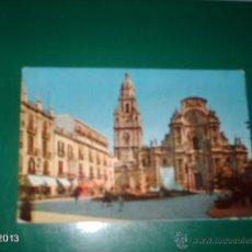 Postales: POSTAL DE MURCIA. CATEDRAL. FOTOCOLOR VALMAN. AÑOS 60. Lote 40266438
