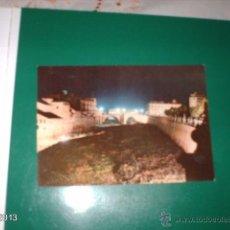 Postales: POSTAL ANTIGUA DE MURCIA. VISTA NOCTURNA DEL SEGURA. AÑOS 60. ED. NOCTURNOS. NÚMERO 45. Lote 40266713