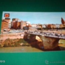 Postales: POSTAL ANTIGUA DE MURCIA. PUENTE VIEJO. AÑOS 70. ED. SUBIRATS. Lote 40267190