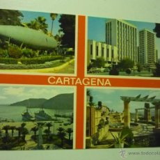 Postales: POSTAL CARTAGENA,.VARIAS VISTAS--ESCRITA. Lote 40639736