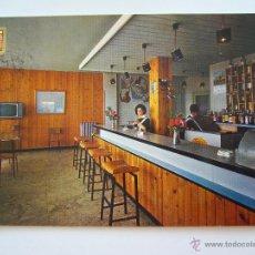 Postales: POSTAL PUERTO LUMBRERAS. MURCIA. HOTEL RISCAL. BAR. CIRCULADA. A. SUBIRATS.. Lote 40647449