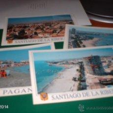 Postales: LOTE DE 4 POSTALES DEL SANTIAGO DE LA RIBERA (MURCIA). AÑOS 90. Lote 49187159