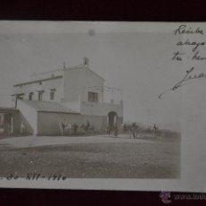 Postales: ANTIGUA FOTO POSTAL FECHADA EN LORCA DEL AÑO 1910. Lote 41004185