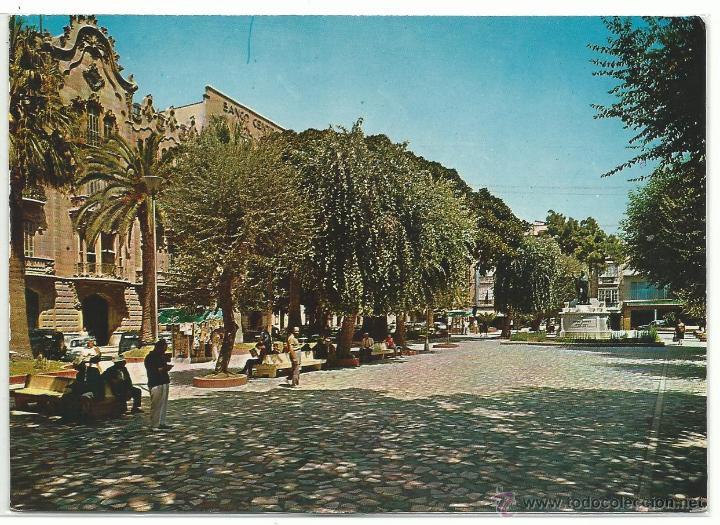 CARTAGENA .- PLAZA DE SAN FRANCISCO .- EDICIONES ARRIBAS Nº 2001 SIN CIRCULAR (Postales - España - Murcia Moderna (desde 1.940))