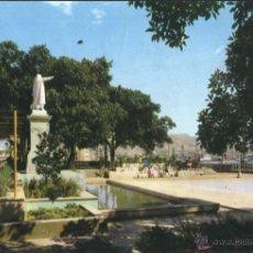 Postales: CARTAGENA - JARDINES DE LA MURALLA DEL MAR. Lote 42435130