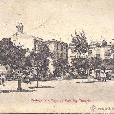 Postales: PS4189 CARTAGENA 'PLAZA DE VALARINO TOGORES'. P.Z. ESCRITA AL DORSO. Lote 42504444