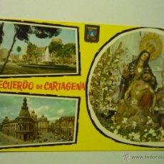 Postales: POSTAL ESCRITA CARTAGENA.-VARIOS ASPECTOS . Lote 42557508