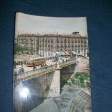 Postales: POSTAL MURCIA - PUENTE VIEJO Y HOTEL VICTORIA - CIRCULADA. Lote 42751638