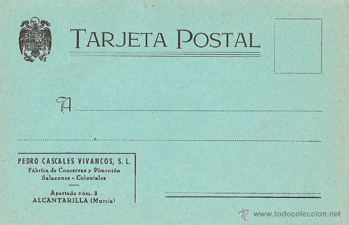 MURCIA - ALCANTARILLA, FÁBRICA DE CONSERVAS Y PIMENTÓN. (Postales - España - Murcia Moderna (desde 1.940))