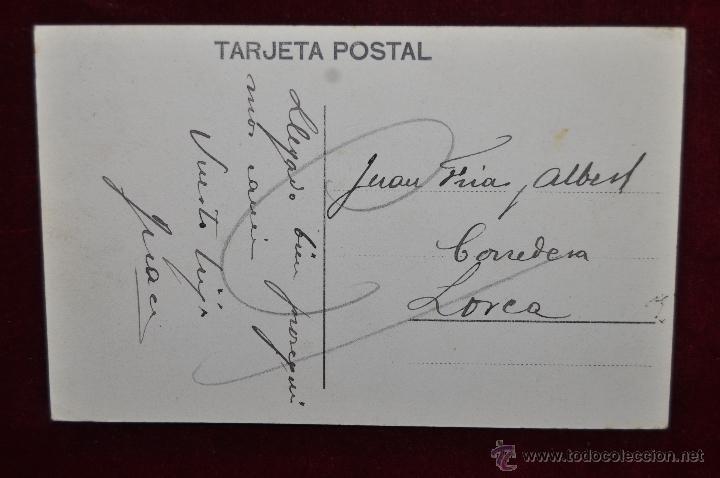 Postales: ANTIGUA POSTAL DE MURCIA. VISTA PANORAMICA. EL PUENTE NUEVO. CIRCULADA - Foto 2 - 43125170
