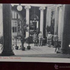 Postales: ANTIGUA POSTAL DE MURCIA. CASINO, PATIO CUADRADO. FOTPIA. THOMAS. SIN CIRCULAR. Lote 43125253