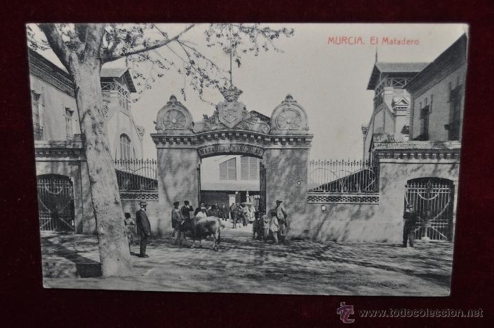 ANTIGUA POSTAL DE MURCIA. EL MATADERO. FOTPIA. THOMAS. SIN CIRCULAR (Postales - España - Murcia Antigua (hasta 1.939))