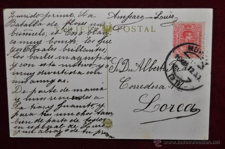 Postales: ANTIGUA POSTAL DE MURCIA. SANTUARIO DE NTRA. SRA. DE LA FUENSANTA. FOTPIA. THOMAS. CIRCULADA - Foto 2 - 43125295
