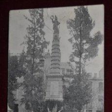 Postales: ANTIGUA POSTAL DE MURCIA. MONUMENTO DE LA FAMA. FOTPIA. THOMAS. ESCRITA. Lote 43125306