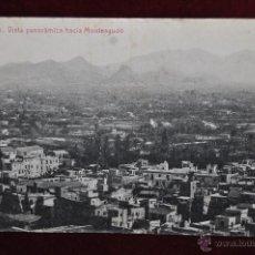 Postales: ANTIGUA POSTAL DE MURCIA. VISTA PANORAMICA HACIA MONTEAGUDO. FOTPIA. THOMAS. CIRCULADA. Lote 43125335