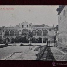 Postales: ANTIGUA POSTAL DE LORCA. MURCIA. AYUNTAMIENTO. FOTPIA THOMAS. CIRCULADA. Lote 43126875
