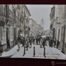 Postales: ANTIGUA FOTO POSTAL DE LORCA. MURCIA. LA CORREDERA. CIRCULADA. Lote 43170638