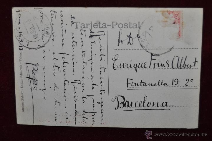Postales: ANTIGUA FOTO POSTAL DE LORCA. MURCIA. LA CORREDERA. CIRCULADA - Foto 2 - 43170638