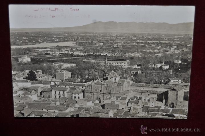 FOTO POSTAL DE LORCA. MURCIA. PLAZA DE TOROS. CIRCULADA (Postales - España - Murcia Antigua (hasta 1.939))