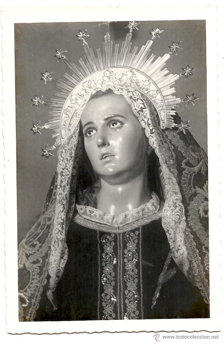 MURCIA, FIGURAS DE SALCILLO Nº 286, LA SOLEDAD. ED. ARRIBAS (Postales - España - Murcia Moderna (desde 1.940))