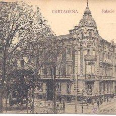 Postales: PS4305 CARTAGENA 'PALACIO DE AGUIRRE'. J. CASAÚ. SIN CIRCULAR. Lote 43387372