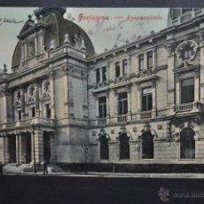 Postales: ANTIGUA POSTAL DE CARTAGENA. MURCIA. AYUNTAMIENTO. CIRCULADA. Lote 43465241