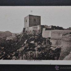 Postales: ANTIGUA POSTAL DE LORCA. MURCIA. EL CASTILLO. ED. E. ALMIRALL. CLIXE L. ROISIN. SIN CIRCULAR. Lote 43577900