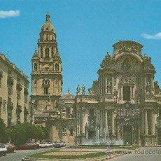 Postales: MURCIA, LA CATEDRAL, EDITOR: ARRIBAS Nº 130. Lote 43772357