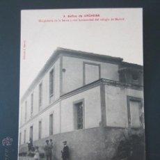 Postales: POSTAL MURCIA. BAÑOS DE ARCHENA. HOSPEDERIA DE LA SANTA Y REAL HERMANDAD DEL REFUGIO DE MADRID. . Lote 43791612