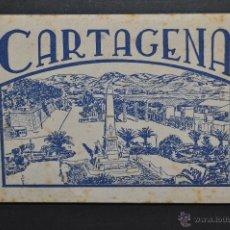 Postales: TIRA FOTO POSTAL DE CARTAGENA. MURCIA. EDICION Y FOTOS CASAÚ. 10 TARJETAS. Lote 44035685