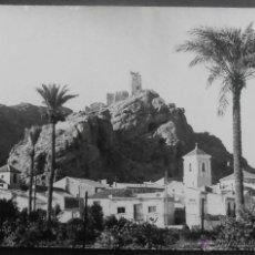 Postales: (17960)POSTAL ESCRITA,VISTA GENERAL Y CASTILLO,ALHAMA,MURCIA,MURCIA,CONSERVACION:. Lote 44237874