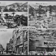 (18036)POSTAL ESCRITA,VARIAS VISTAS,CARTAGENA,MURCIA,MURCIA,CONSERVACION: