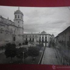 Postales: LORCA. MURCIA. PLAZA DE ESPAÑA MONUMENTO DEL SAGRADO CORAZON.. (ED. ARRIBAS Nº49 ). Lote 44376157