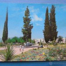 Cartes Postales: POSTAL DE MURCIA. AÑO 1976. JUMILLA, PLAZA DE LOS CIPRESES. 386. Lote 45174914